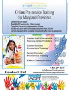 Maryland Pre-service Training