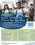 Online Training for School-age Providers